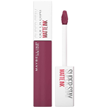 Maybelline Superstay Matte Ink Pintalabios Mate Larga Duración Tono 40 Believer Color Morado