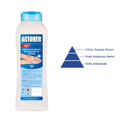 Actoner Gel Hidroalcohólico Higienizante Manos 600ml