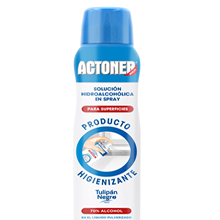 Actoner Solución Hidro-Alcohólica Para Superficies Spray 400ml