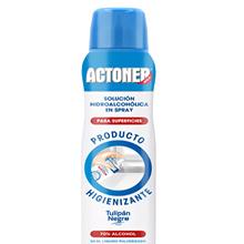 Actoner Solución Hidro-Alcohólica Para Superficies Spray 400ml