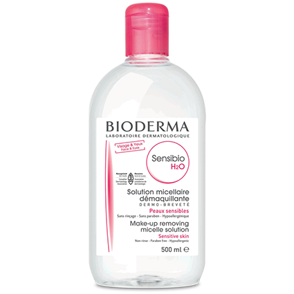 Bioderma Sensibio H2O Make Up Removing Micelle Solution 100ml