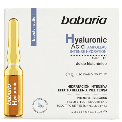 Babaria Ampoules Hyaluronic Acid 5 Units