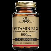 Vitamina B12 1000 μg 100 Comprimidos sublinguales Masticables