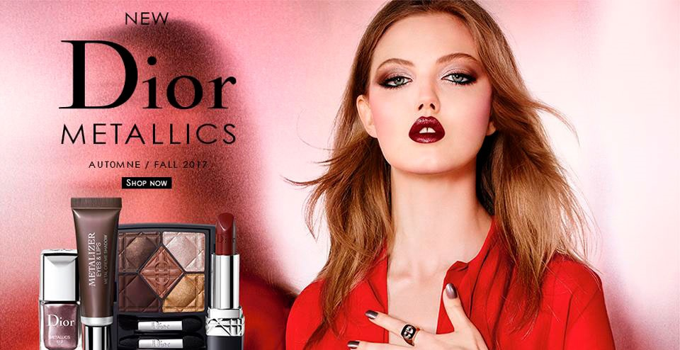 New makeup collection by Dior