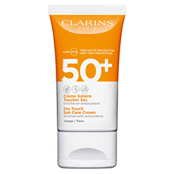 Clarins Dry Touch Sun Care Cream Spf50+ Face 50ml