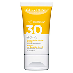 Clarins Invisible Sun Care Gel To Oil Spf30 Face 50ml