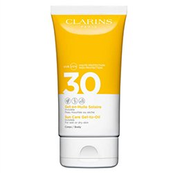 Clarins Sun Care Gel To Oil Spf30 Body 150ml