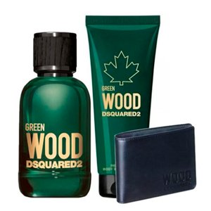 Dsquared2 Green Wood Pour Homme Eau De Toilette Spray 100ml Set 3 Artikel 2020