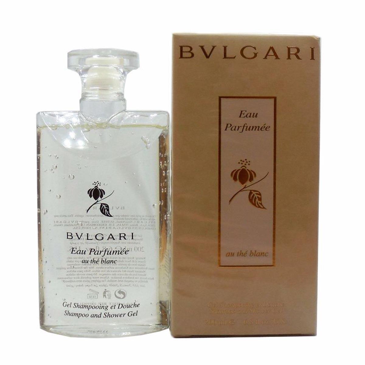 Bvlgari Shower Gel And Shoo Bvlgari Au The Blanc Eau