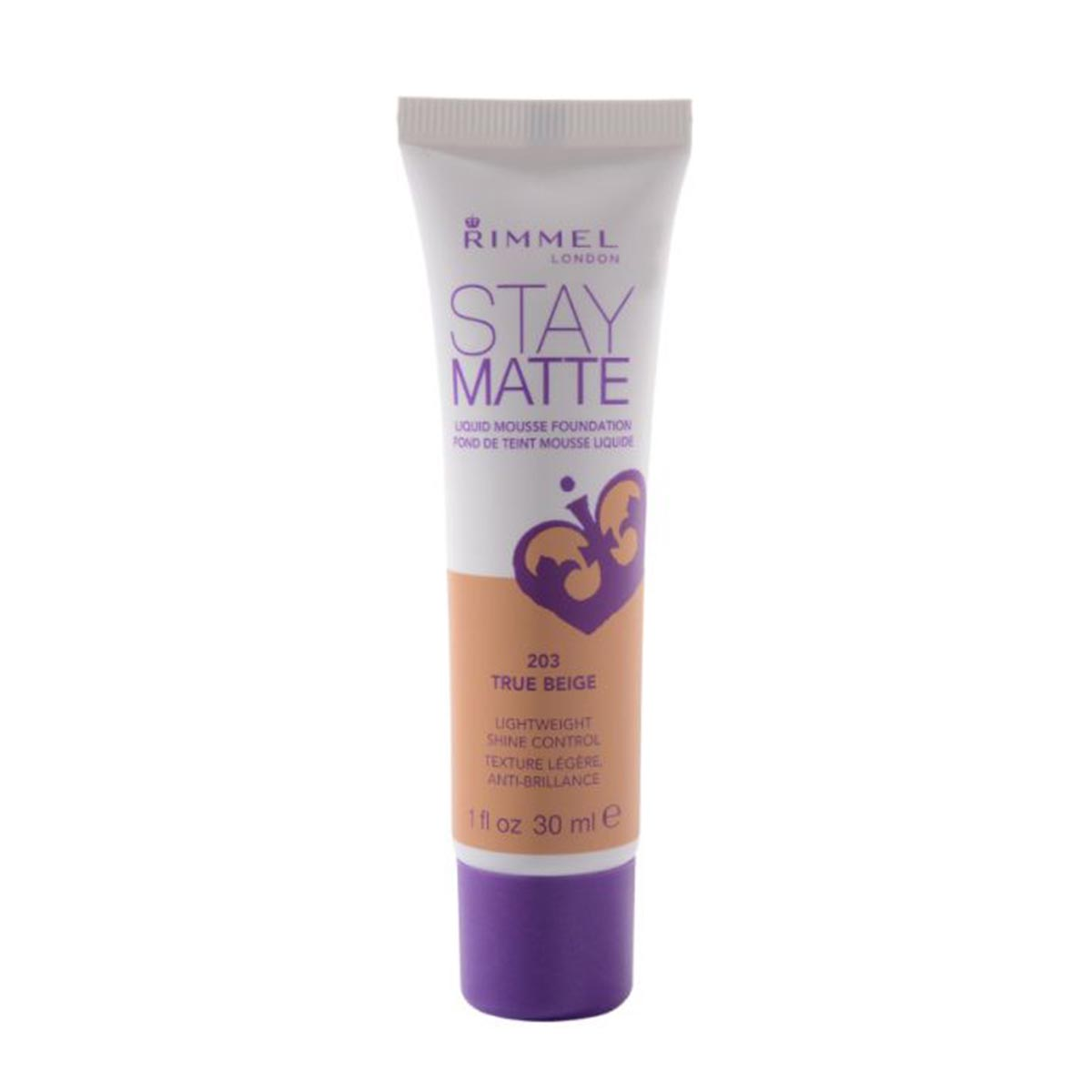 ... Rimmel London Stay Matte Liquid Mousse Foundation 203 True Beige. Share it! 3607342675810.jpg