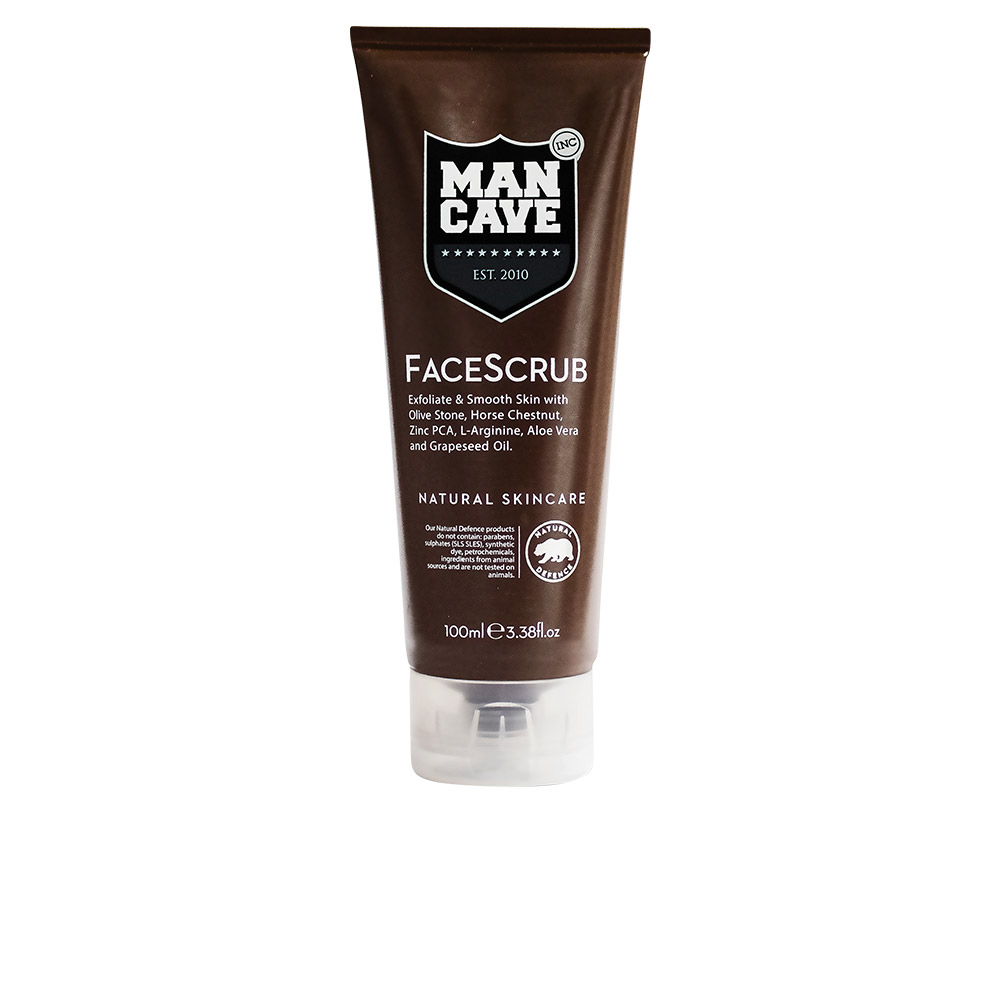 Man Cave Products : Man cave face care scrub ml