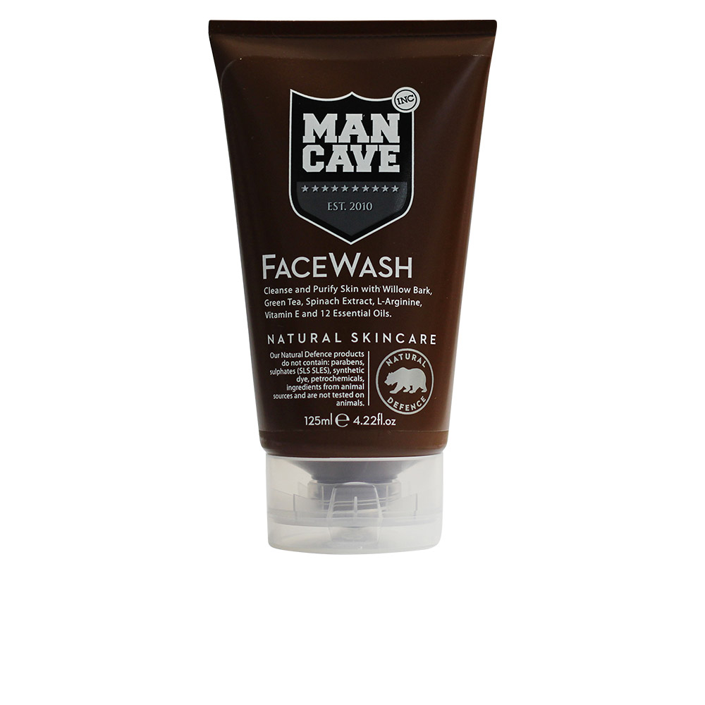 Man Cave Products : Man cave face care wash ml