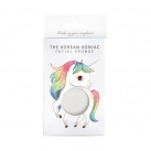 The Konjac Mythical Unicorn Prancing Sponge And Hook White