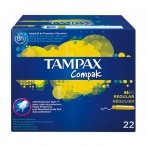 Tampax Compak Regular 22 Units