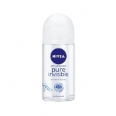 Nivea Pure Invisible Deo Roll On 50ml