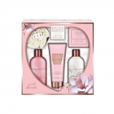 Baylis And Harding Limited Edition Pink Magnolia And Pear Blossom Set 5 Pieces 2018