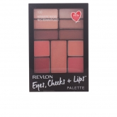 Revlon Eyes Cheeks & Lips Palette 100 Romantic Nudes