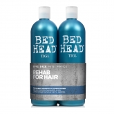 Tigi Ted Head Rehab For Hair Shampoo 750ml Set 2 Pieces 2017