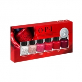 Opi Nail Lacquer Travel Exclusive 6x3.75ml Set 6 Pieces
