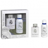 Real Madrid Eau De Toilette Spray 100ml Set 2 Pieces 2016