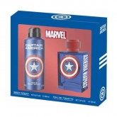 Marvel Captain America Eau De Toilette Spray 100ml Set 2 Piezas 2018