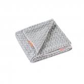 Aquis Lisse Luxe Toalla Para Cabello Chevron 50x107cm