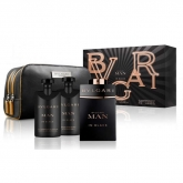 Bvlgari Man In Black Eau De Toilette Spray 100ml Set 4 Pieces 2018
