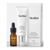 Medik8 Balance Moisturiser And Glycolic Acid Activator 50ml And 5ml
