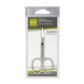 QVS Curved Nail Scissors Curved Blaces