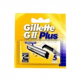 Gillette GII Plus Refill 5 Units
