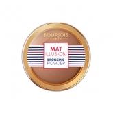 Bourjois Mat Illusion Bronzing Powder 22 Hale Fonce Dark