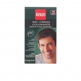 Kerzo Dye For Man Cream Gel Dark Brown