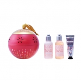 L'Occitane Christmas Lantern Cherry Blossom Set 3 Pieces 2018