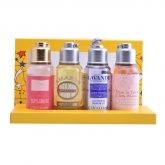 L'Occitane Quator Showers Gels 75ml Set 4 Pieces 2018