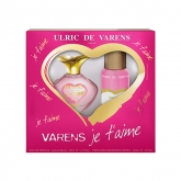 Ulric de Varens Je T Aime Eau de Perfume Spray 50ml Set 2 Pieces
