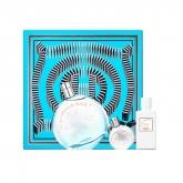 Hermès Eau Des Merveilles Bleue Eau De Toilette Spray 100ml Set 3 Pieces 2018