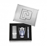 Paco Rabanne Invictus Eau De Toilette Spray 100ml Set 3 Pieces 2019