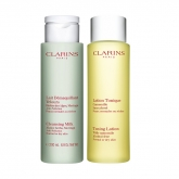 Clarins Cleansing Milk Normal Or Dry Skin 200ml Set 2 Pieces 2018