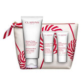 Clarins Moisture Rich Body Lotion Christmas Set 4 Pieces 2018