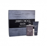 Jimmy Choo Man Intense Eau De Toilette Spray 100ml Set 3 Pieces 2018