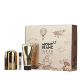 Montblanc Emblem Absolu Eau De Toilette Spray 100ml Set 3 Piezas 2020