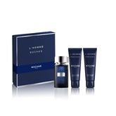 Rochas L'Homme De Rochas Eau De Toilette Spray 100ml Set 3 Pieces 2020