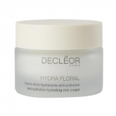 Decleor Hydra Floral Anti Pollution Hydrating Rich Cream 50ml