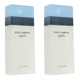 Dolce And Gabbana Light Blue Eau De Toilette Spray 50ml Set 2 Pieces 2019