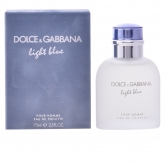 Dolce and Gabbana Light Blue Homme Eau De Toilette Spray 75ml