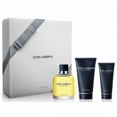 Dolce & Gabbana Pour Homme Eau De Toilette Spray 125ml Set 3 Artikel 2017