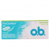 O.B. Pro Comfort Tampons Super Plus 16 Units