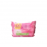 Carefree Aloe Intimate Wipes 2x20 Units