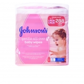 Johnsons Baby Wipes 288 Units