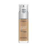 L'oréal Paris Accord Parfait Base De Maquillaje Acabado Natural Tono De Piel Medio 6n Miel 30ml